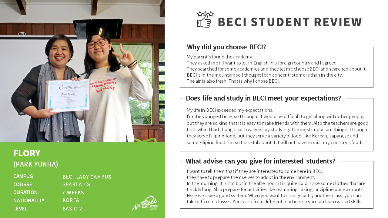 (EN) BECI_Student Review_FLORY