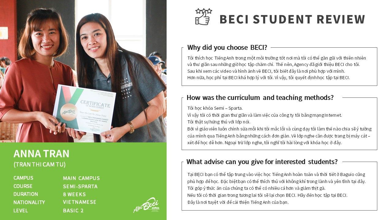 (VN) BECI _Student Review_Anna Tran