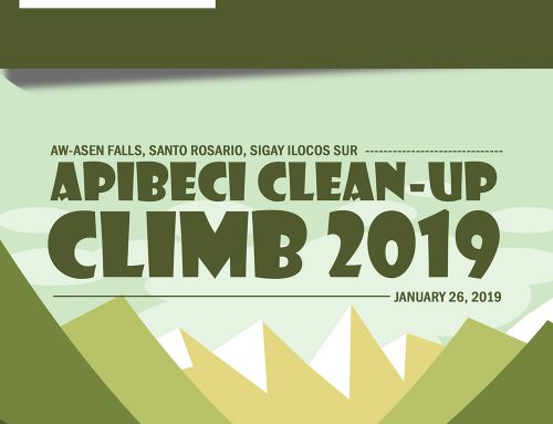 VOL 123. APIBECI Clean-up Climb 2019
